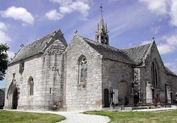 Photo du Monument Historique Eglise Saint-Hilaire situé à Clohars-Fouesnant
