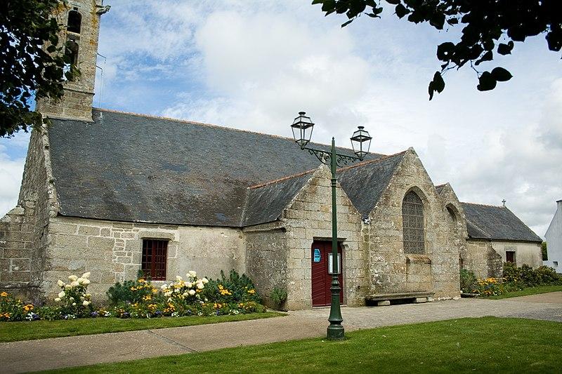 Photo du Monument Historique Eglise Notre-Dame-de-Lorette situé à Concarneau