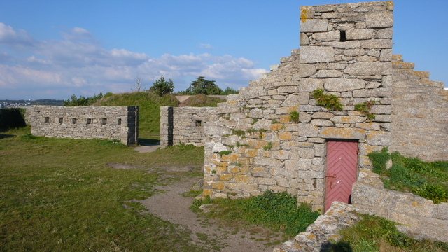Photo du Monument Historique Fort du Cabellou situé à Concarneau