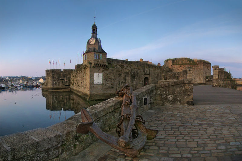 Photo du Monument Historique Remparts de la Ville Close situé à Concarneau