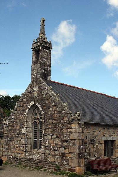 Photo du Monument Historique Chapelle Saint-Fiacre situé à Crozon