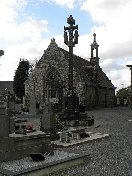 Photo du Monument Historique Chapelle Sainte-Nonne situé à Dirinon