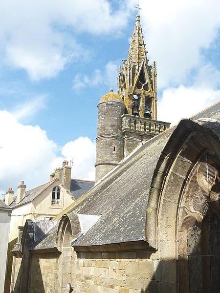 Photo du Monument Historique Chapelle Sainte-Hélène situé à Douarnenez