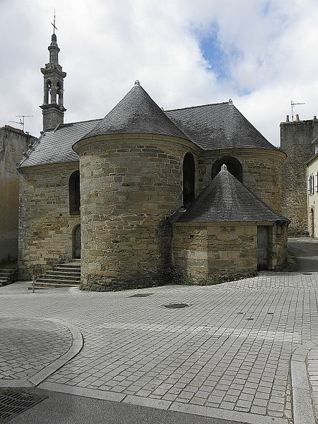 Photo du Monument Historique Chapelle Saint-Michel situé à Douarnenez