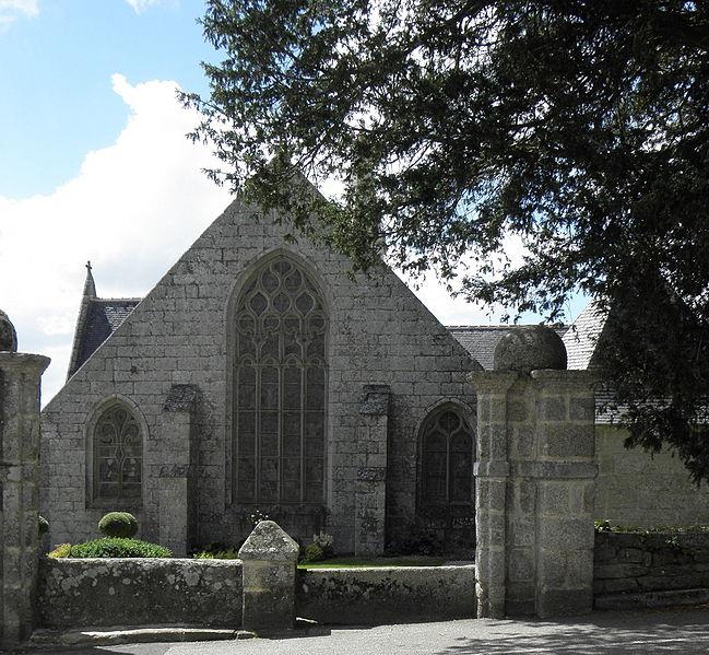Photo du Monument Historique Eglise Saint-Guinal ou Saint-Gwenaël situé à Ergué-Gabéric