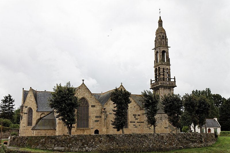 Photo du Monument Historique Eglise Saint-Sauveur situé à Faou (Le)