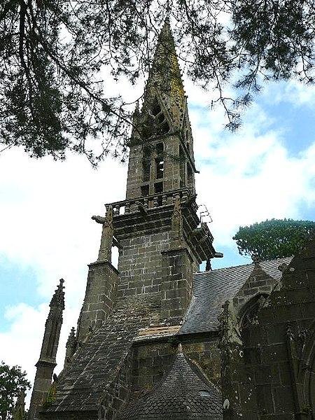 Photo du Monument Historique Eglise Notre-Dame de Rumengol situé à Le Faou