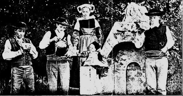 Photo du Monument Historique Fontaine du 16e siècle de Rumengol situé à Faou (Le)