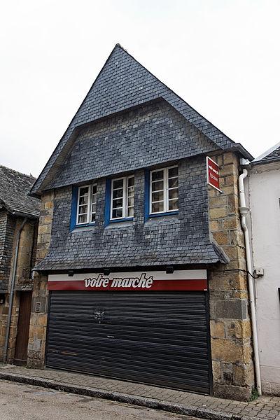 Photo du Monument Historique Maison situé à Faou (Le)