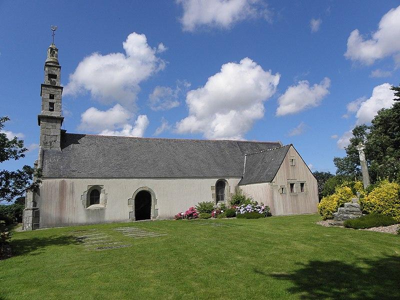Photo du Monument Historique Chapelle Saint-Vellé de Gicqueleau situé à Le Folgoët