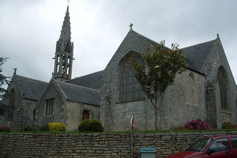 Photo du Monument Historique Eglise Notre-Dame d'Izel Vor situé à La Forêt-Fouesnant