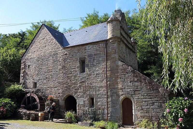 Photo du Monument Historique Moulin à eau du Chef du Bois situé à La Forêt-Fouesnant