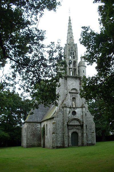 Photo du Monument Historique Chapelle Sainte-Anne situé à Fouesnant