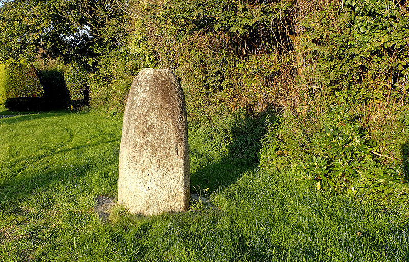 Photo du Monument Historique Stèle protohistorique du Cosquer situé à Gouesnach