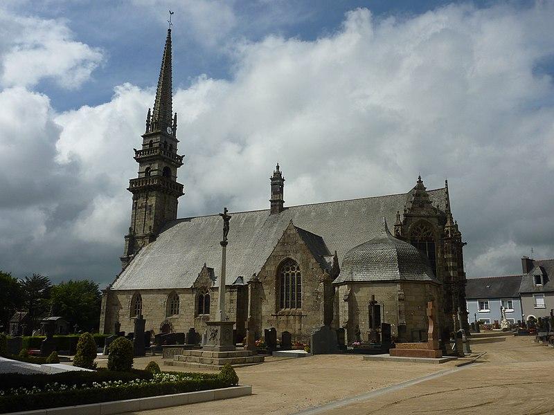 Photo du Monument Historique Eglise Saint-Gouesnou situé à Gouesnou