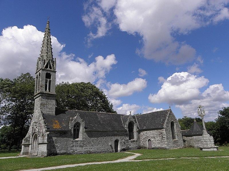 Photo du Monument Historique Chapelle Notre-Dame-de-Tréguron situé à Gouézec