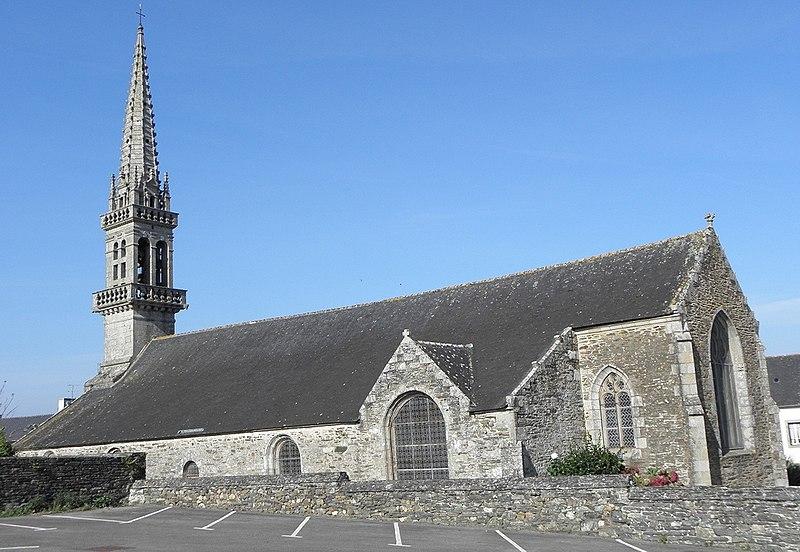 Photo du Monument Historique Eglise Saint-Pierre situé à Gouézec