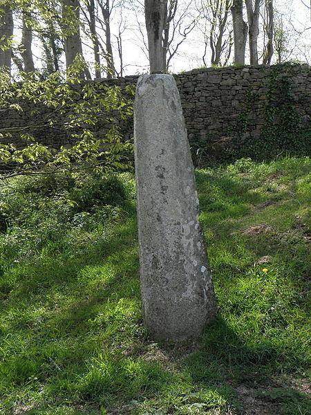 Photo du Monument Historique Stèle protohistorique situé à Goulien
