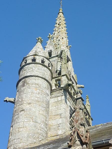 Photo du Monument Historique Eglise Saint-Ténénan situé à Guerlesquin