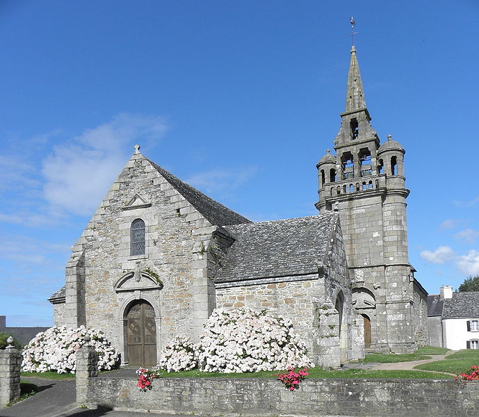 Photo du Monument Historique Eglise Saint-Pierre situé à Guimaëc