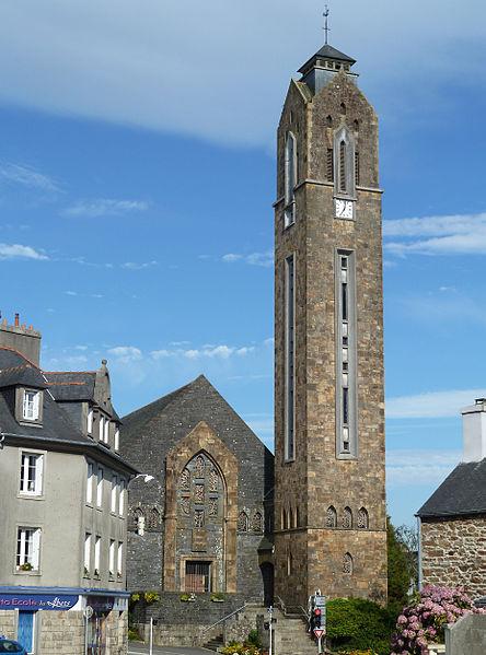 Photo du Monument Historique Eglise Saint-Pierre et Saint-Paul situé à Guipavas