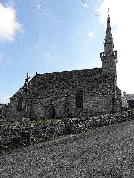 Photo du Monument Historique Chapelle Notre-Dame-des-Cieux situé à Huelgoat