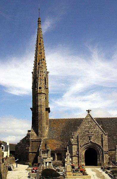 Photo du Monument Historique Eglise Saint-Germain situé à Kerlaz