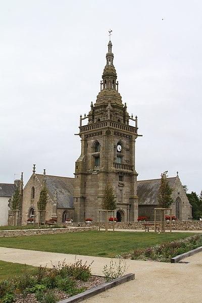 Photo du Monument Historique Eglise Saint-Pol-Aurélien situé à Lampaul-Ploudalmézeau