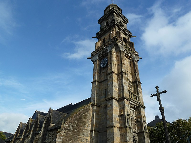Photo du Monument Historique Eglise Saint-Thomas-de-Cantorbéry situé à Landerneau