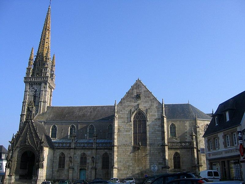 Photo du Monument Historique Eglise Saint-Thivisiau situé à Landivisiau