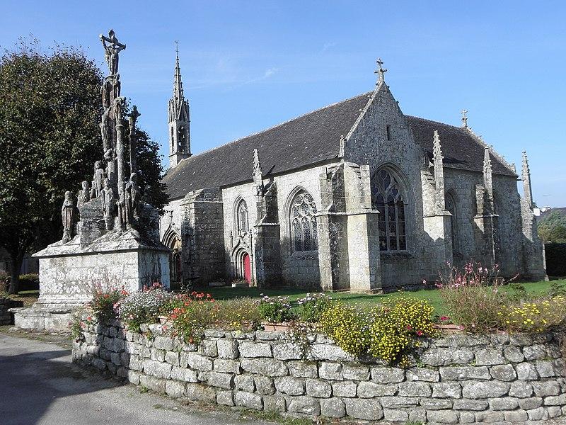 Photo du Monument Historique Chapelle Notre-Dame de Quilinen situé à Landrévarzec