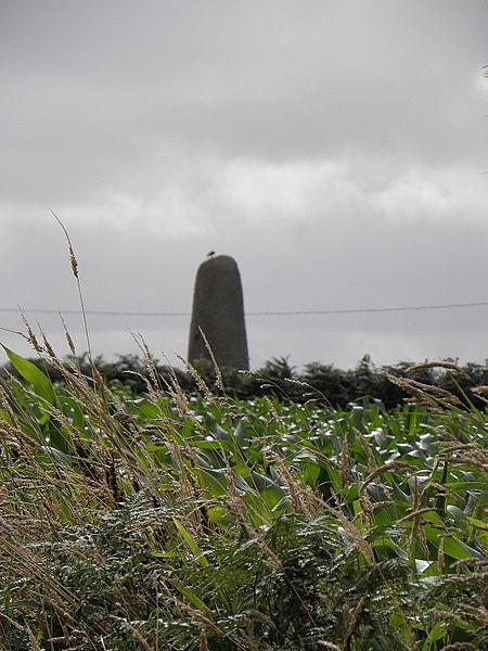 Photo du Monument Historique Menhir de Saint-Gonveld situé à Landunvez