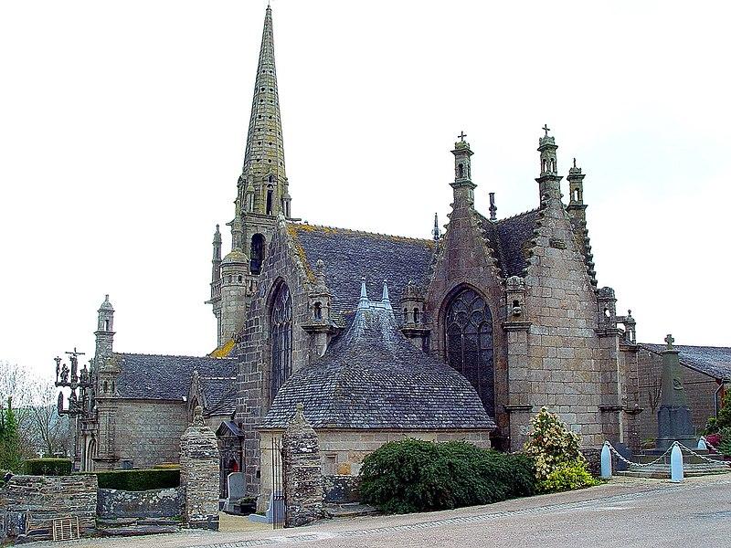 Photo du Monument Historique Eglise Saint-Mélar situé à Locmélar