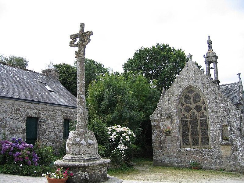 Photo du Monument Historique Chapelle Notre-Dame-de-Bonne-Nouvelle situé à Locronan