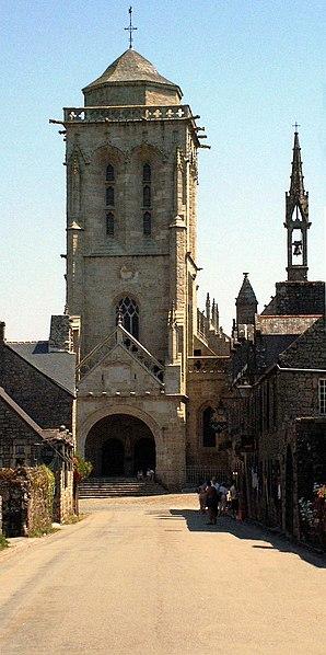 Photo du Monument Historique Eglise Saint-Ronan situé à Locronan