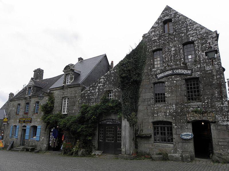 Photo du Monument Historique Hôtel Gauthier situé à Locronan