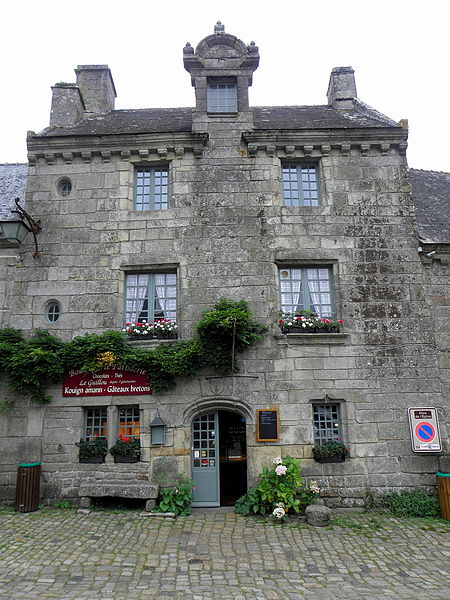 Photo du Monument Historique Immeuble situé à Locronan