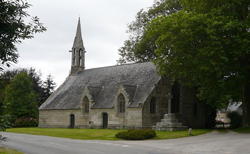 Photo du Monument Historique Chapelle de Coat-Am-Podou situé à Melgven