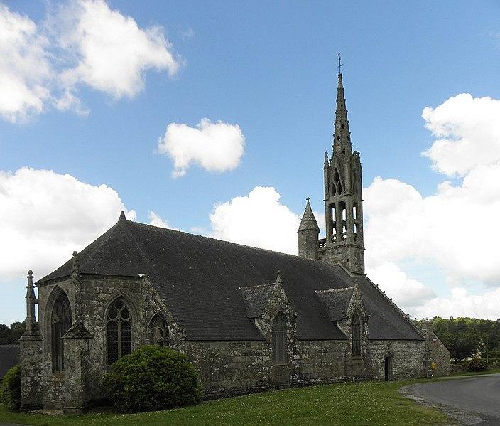 Photo du Monument Historique Chapelle de la Trinité situé à Melgven
