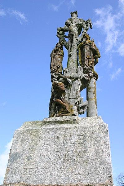 Photo du Monument Historique Calvaire situé à Mellac