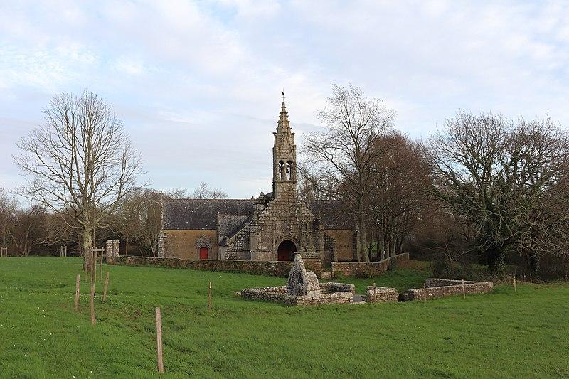 Photo du Monument Historique Chapelle Saint-Philibert, ou Saint-Roch situé à Moëlan-sur-Mer