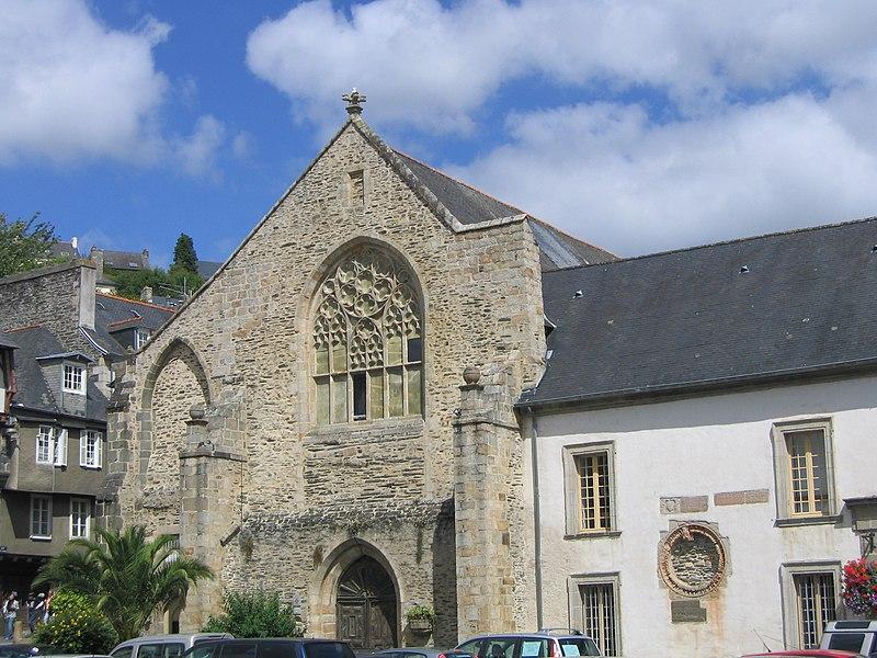 Photo du Monument Historique Ancienne abbaye des Jacobins situé à Morlaix