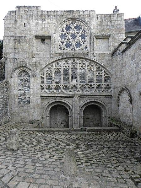 Photo du Monument Historique Restes de la chapelle Notre-Dame-de-la-Fontaine situé à Morlaix