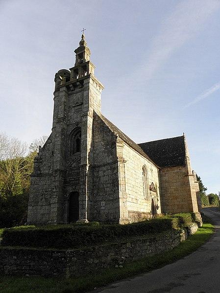 Photo du Monument Historique Chapelle Saint-Geneviève situé à Morlaix