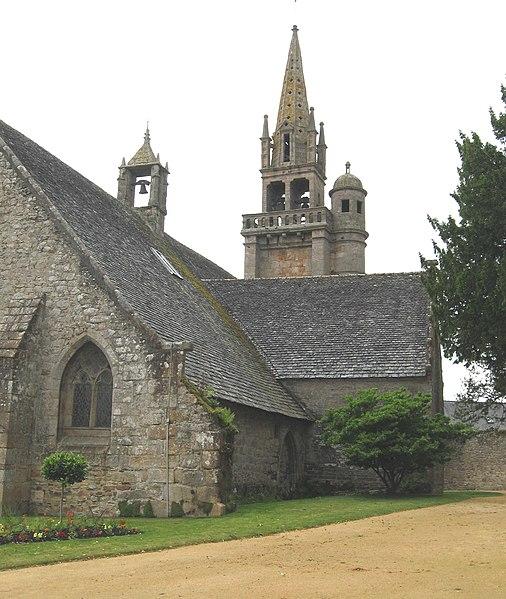 Photo du Monument Historique Eglise de Ploujean situé à Morlaix