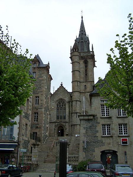 Photo du Monument Historique Eglise Saint-Mélaine situé à Morlaix