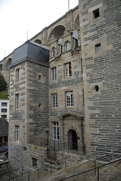 Photo du Monument Historique Hôtel dit de François du Parc situé à Morlaix