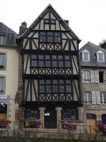 Photo du Monument Historique Maison dite de la Reine-Anne situé à Morlaix