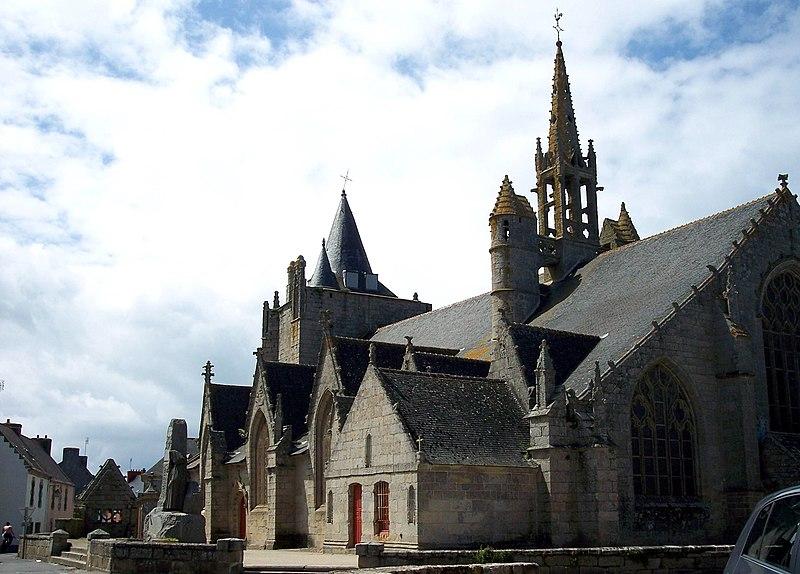 Photo du Monument Historique Eglise Saint-Nonna situé à Penmarch