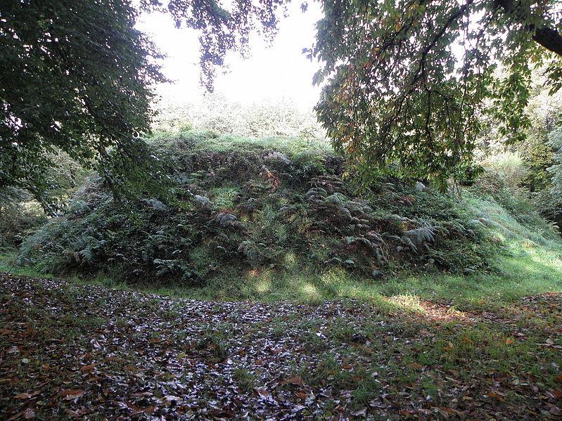Photo du Monument Historique Motte féodale et camp de Lesquellen situé à Plabennec